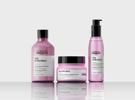 Chuỗi chuyên gia Liss của L'Oréal Professionnel Unlimited