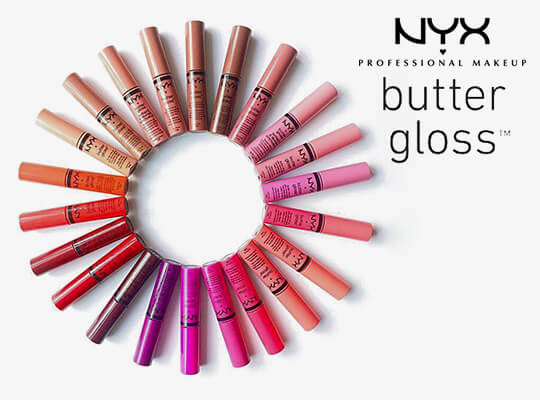 błyszczyk do ust NYX Professional MakeUp Butter Gloss