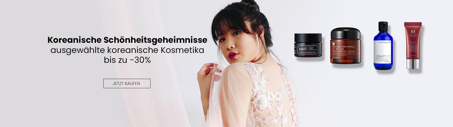 Asiatische Kosmetik